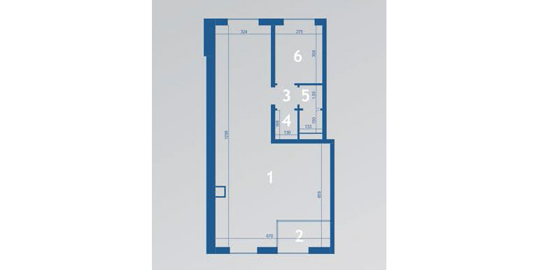 mieszkania lublin zemborzyce - A5 - lokal usługowy 1-2