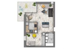 mieszkania lublin zemborzyce -B1 M15