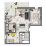 mieszkania lublin zemborzyce -B1 M3