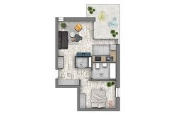 mieszkania lublin zemborzyce - B1 M4