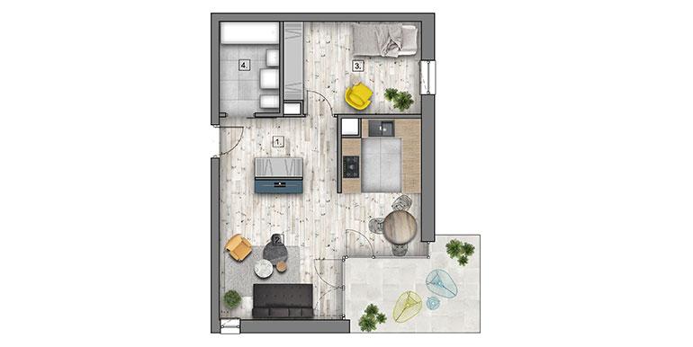 mieszkania lublin zemborzyce -B1 M5