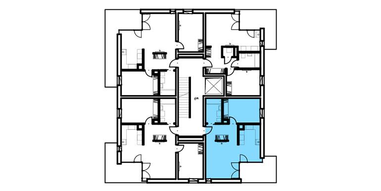 mieszkania lublin zemborzyce - rzut - B1 M5