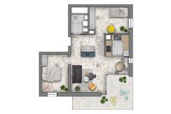 mieszkania lublin zemborzyce -B7 M1