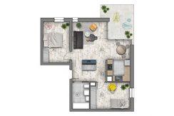 mieszkania lublin zemborzyce -B7 M3