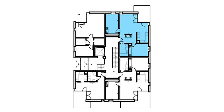 mieszkania lublin zemborzyce - rzut - B7 M3