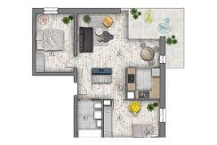mieszkania lublin zemborzyce -B7 M7