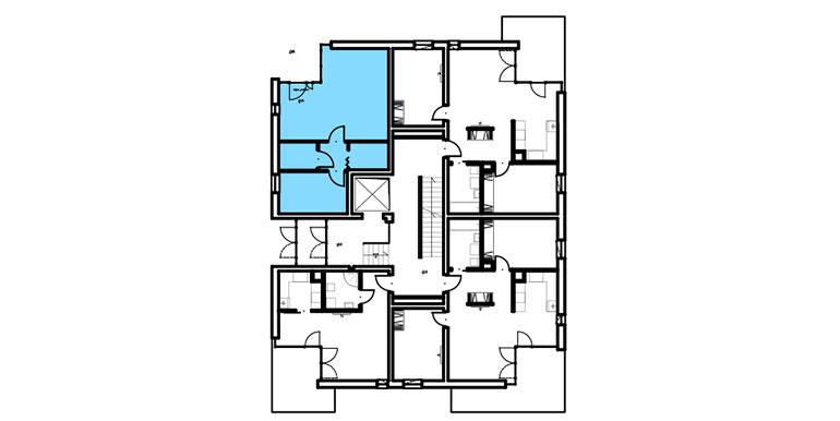 mieszkania lublin zemborzyce - lokal rzut - B7 M1