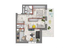 mieszkanie na sprzedaż lublin B4/B5 M1