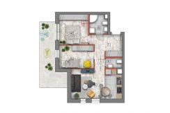 mieszkanie na sprzedaż lublin B4/B5 M2