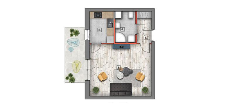 mieszkanie na sprzedaż lublin B4/B5 M3