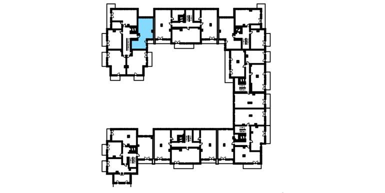 mieszkanie na sprzedaż lublin - rzut - B4/B5 M9