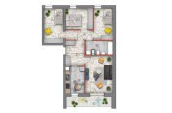 deweloperskie mieszkania lublin B4/B5 M26