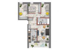 mieszkanie na sprzedaż lublin B4/B5 M29