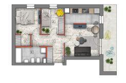 deweloperskie mieszkania lublin B4/B5 M32