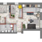 deweloperskie mieszkania lublin B4/B5 M37