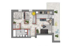 mieszkanie na sprzedaż lublin B4/B5 M40
