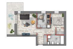 mieszkanie na sprzedaż lublin B4/B5 M85