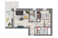 mieszkanie na sprzedaż lublin B4/B5 M91