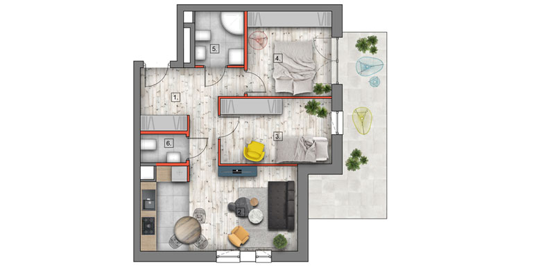 mieszkanie na sprzedaż lublin B4/B5 M10