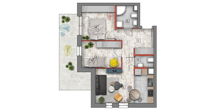 deweloperskie mieszkania lublin B4/B5 M11
