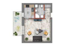 mieszkanie na sprzedaż lublin B4/B5 M12
