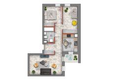 mieszkanie na sprzedaż lublin B4/B5 M14
