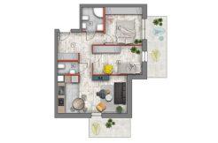 mieszkanie na sprzedaż lublin B4/B5 M15