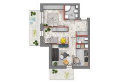 nowe mieszkania lublin B4/B5 M16