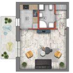 mieszkanie na sprzedaż lublin B4/B5 M17