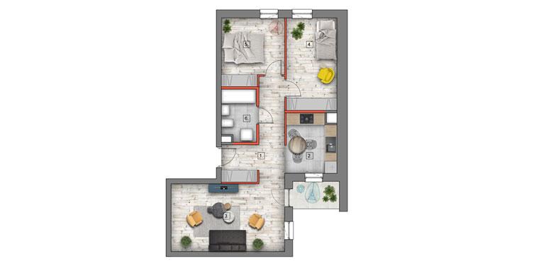 mieszkanie na sprzedaż lublin B4/B5 M19
