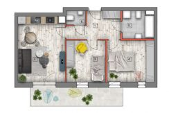 mieszkanie na sprzedaż lublin B4/B5 M21