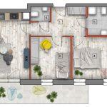 mieszkanie na sprzedaż lublin B4/B5 M24