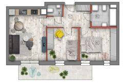 mieszkanie na sprzedaż lublin B4/B5 M27