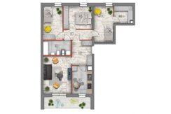 deweloperskie mieszkania lublin B4/B5 M28