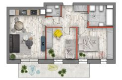 mieszkanie na sprzedaż lublin B4/B5 M30