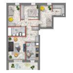 mieszkanie na sprzedaż lublin B4/B5 M31