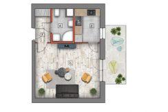 deweloperskie mieszkania lublin B4/B5 M33