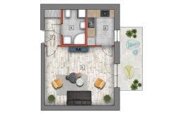 deweloperskie mieszkania lublin B4/B5 M35