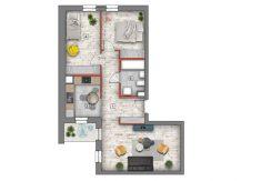 mieszkanie na sprzedaż lublin B4/B5 M36