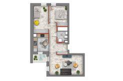 mieszkanie na sprzedaż lublin B4/B5 M39
