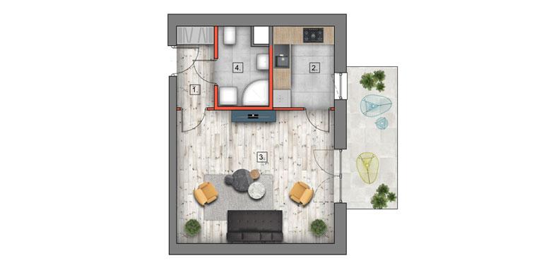 mieszkanie na sprzedaż lublin B4/B5 M41