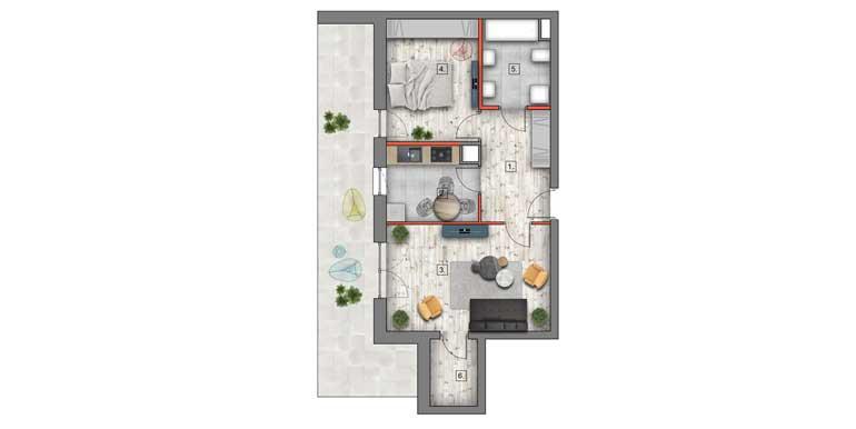 nowe mieszkania lublin B4/B5 M43