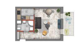 deweloperskie mieszkania lublin B4/B5 M44