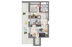 deweloperskie mieszkania lublin B4/B5 M46