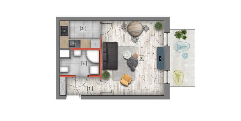 mieszkanie na sprzedaż lublin B4/B5 M47