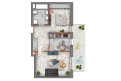 mieszkanie na sprzedaż lublin B4/B5 M48