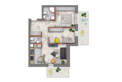mieszkanie na sprzedaż lublin B4/B5 M5