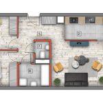 mieszkanie na sprzedaż lublin B4/B5 M53