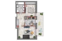 mieszkanie na sprzedaż lublin B4/B5 M56