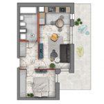 deweloperskie mieszkania lublin B4/B5 M58